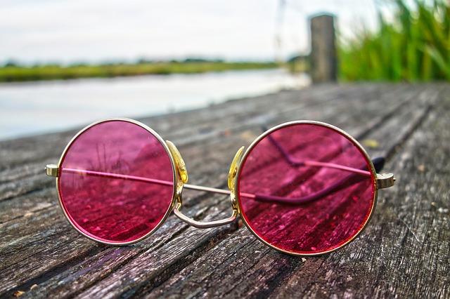 rose colored glasses picture